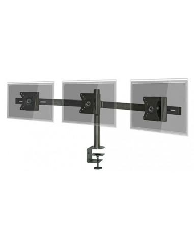 "Pedestal prensa para 3 LCD/LED hasta 24"""