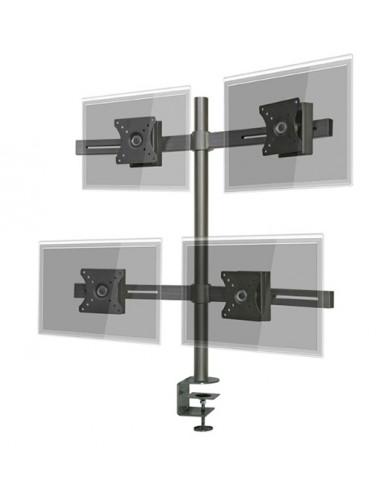 "Pedestal prensa para 4 LCD/LED hasta 24"""