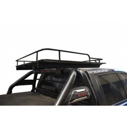 Parrilla tipo OFF ROAD p/ camioneta con barras antivuelco