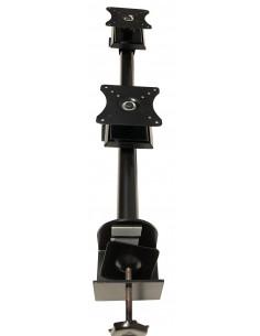 "Pedestal prensa para 2 LCD/LED hasta 24"" vertical"