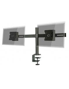 "Pedestal prensa para 2 LCD/LED hasta 24""  horizontal"