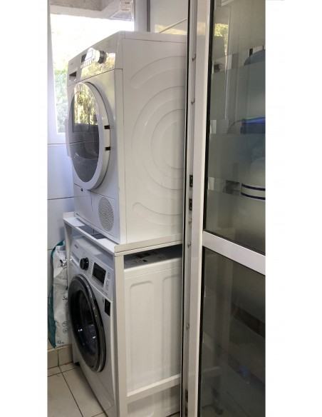 Rack metálico para secadora de ropa