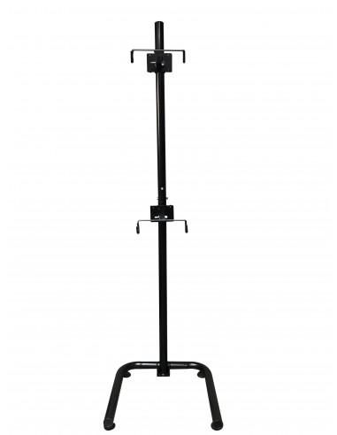 Pedestal autosoportante para 2 bicicletas