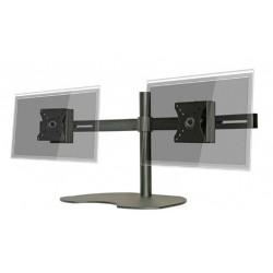 "Pedestal autosoportante para 2 LCD/LED hasta 24"" horizontal"