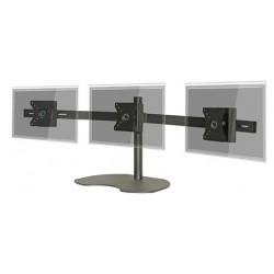 "Pedestal autosportante para 3 LCD/LED hasta 24"""