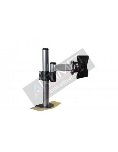 "Pedestal prensa para 1 LCD/LED 15"" a 24"""
